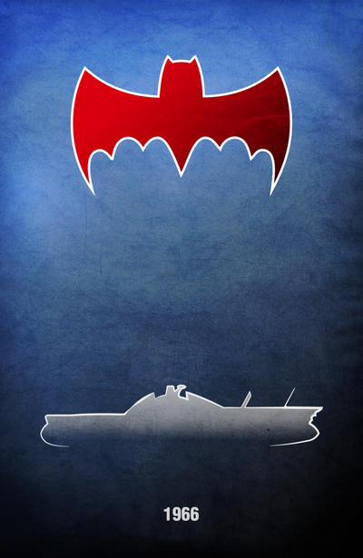Movie Car Racing Posters - Batman by Boomerjinks