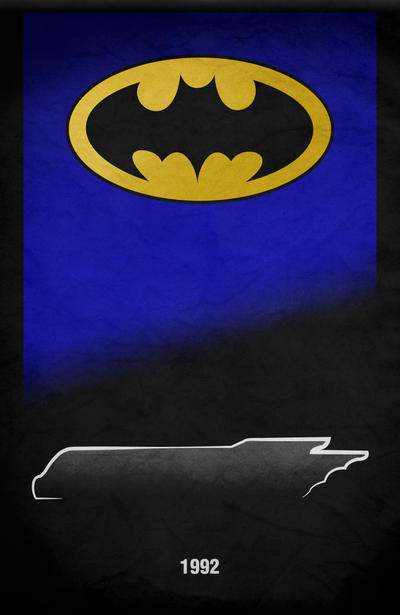 Movie Car Racing Posters - Batman: TAS by Boomerjinks