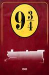 Movie Car Racing Posters - Hogwarts Express