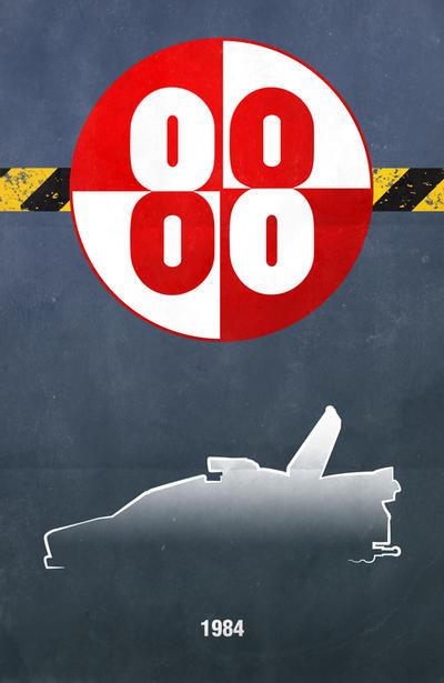 Movie Car Posters - Buckaroo Banzai by Boomerjinks