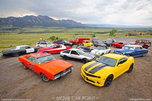 Colorado Movie Cars Group Shot - Boulder, Colorado