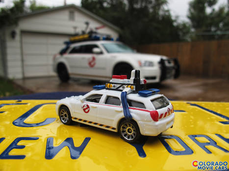 Matchbox Ecto-1 Magnum - Ghostbusters