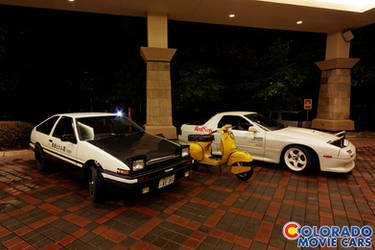Colorado Movie Cars: Anime Division
