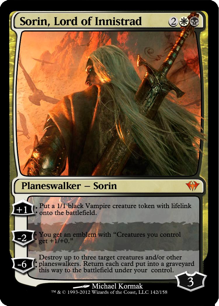 Sorin lord of innistrad by praetorgix on deviantart - Innistrad wallpaper ...
