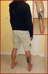 Vegeta tattoo by ultr4man