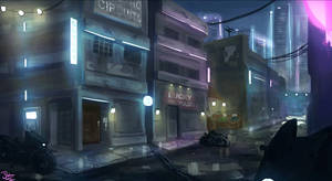 Cybercity Knights - Outer Districts