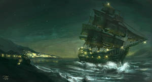 Pirate Ship - The Night Cutter