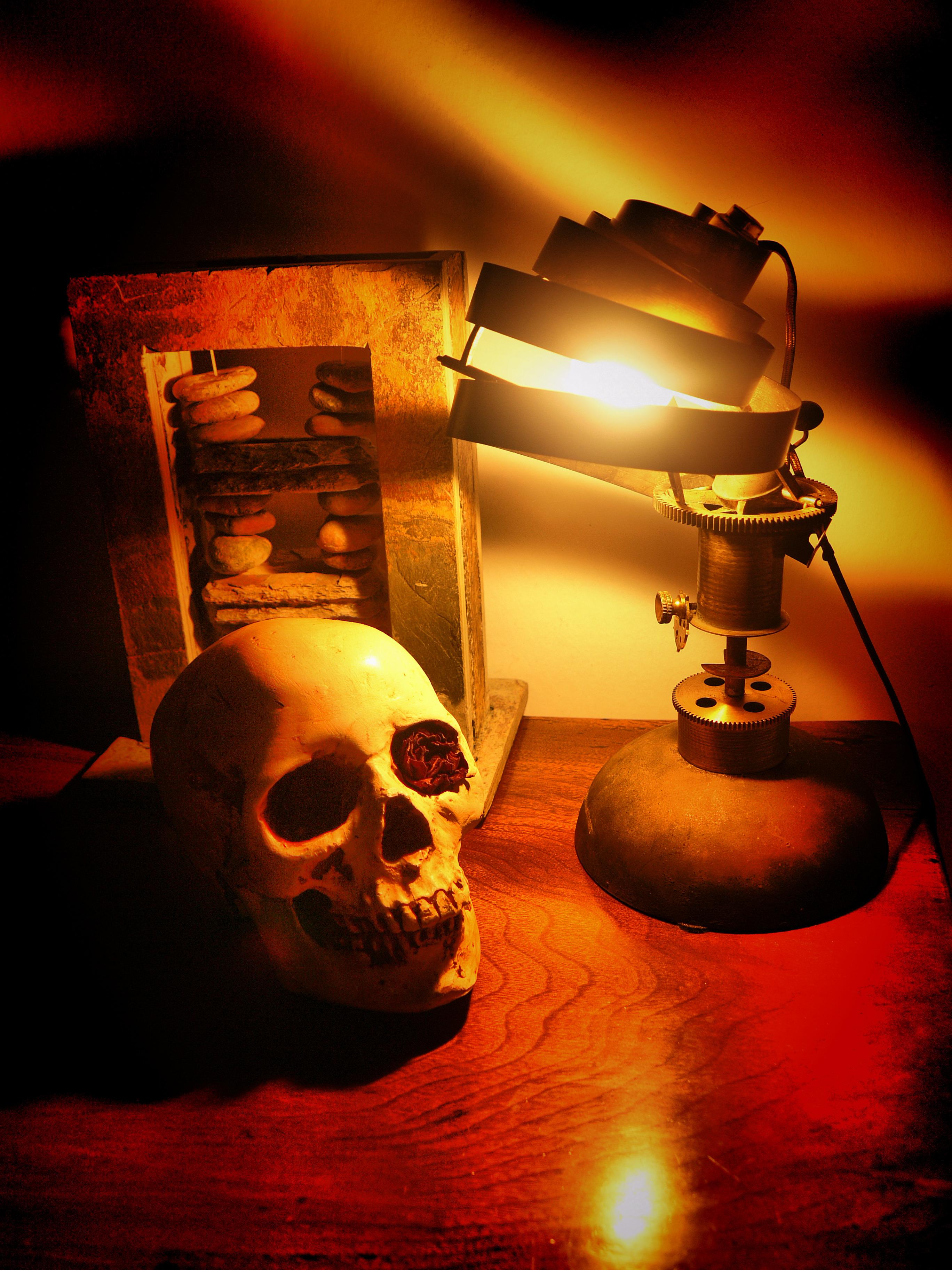 lampe steampunk i by psykomot on deviantart. Black Bedroom Furniture Sets. Home Design Ideas