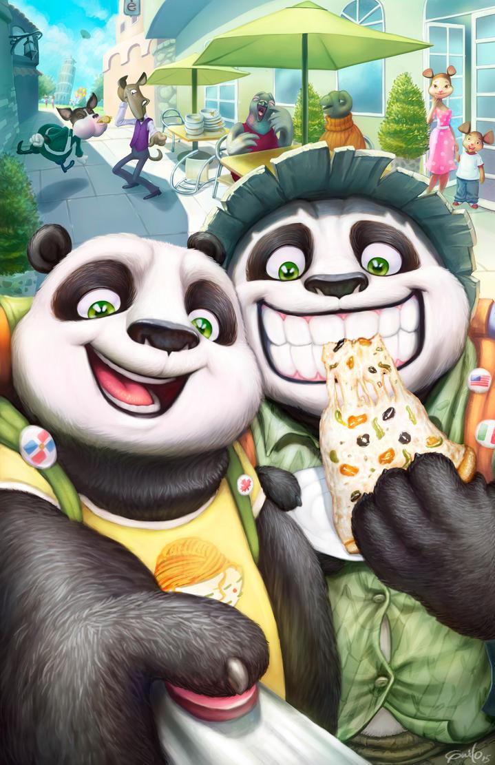 Panda by Guiloart
