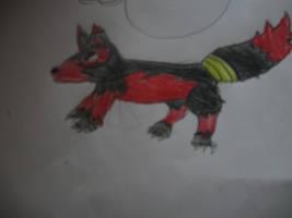 me as a wolf by flip4flippyfan
