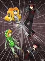 When a Skeleton meets a Spider by flip4flippyfan