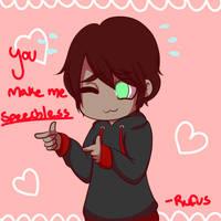 Valentines Rufus by flip4flippyfan