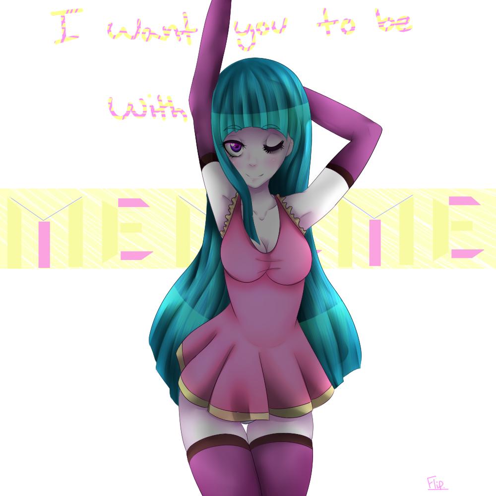Be With ME!ME!ME! by flip4flippyfan