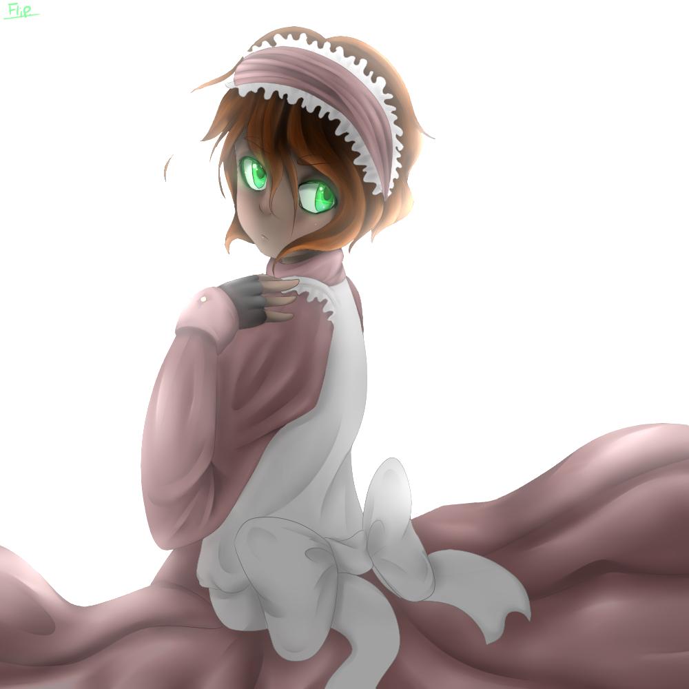 Rufus's Dress by flip4flippyfan