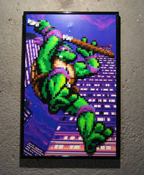 Perler TMNT (Donatello) by Dlugo1975
