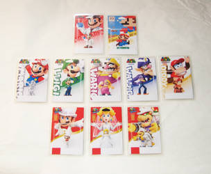 Super Mario Odyssey Amiibo Cards by Dlugo1975