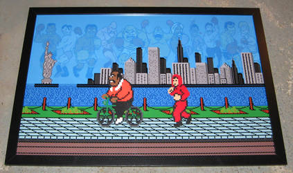 Perler Mike Tyson's Punch-Out by Dlugo1975