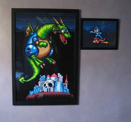 Perler Megaman 2 Dragon II by Dlugo1975