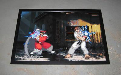Perler Street Fighter Alpha by Dlugo1975