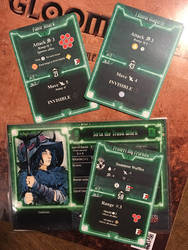 Gloomhaven Strix Character Cards by Dlugo1975