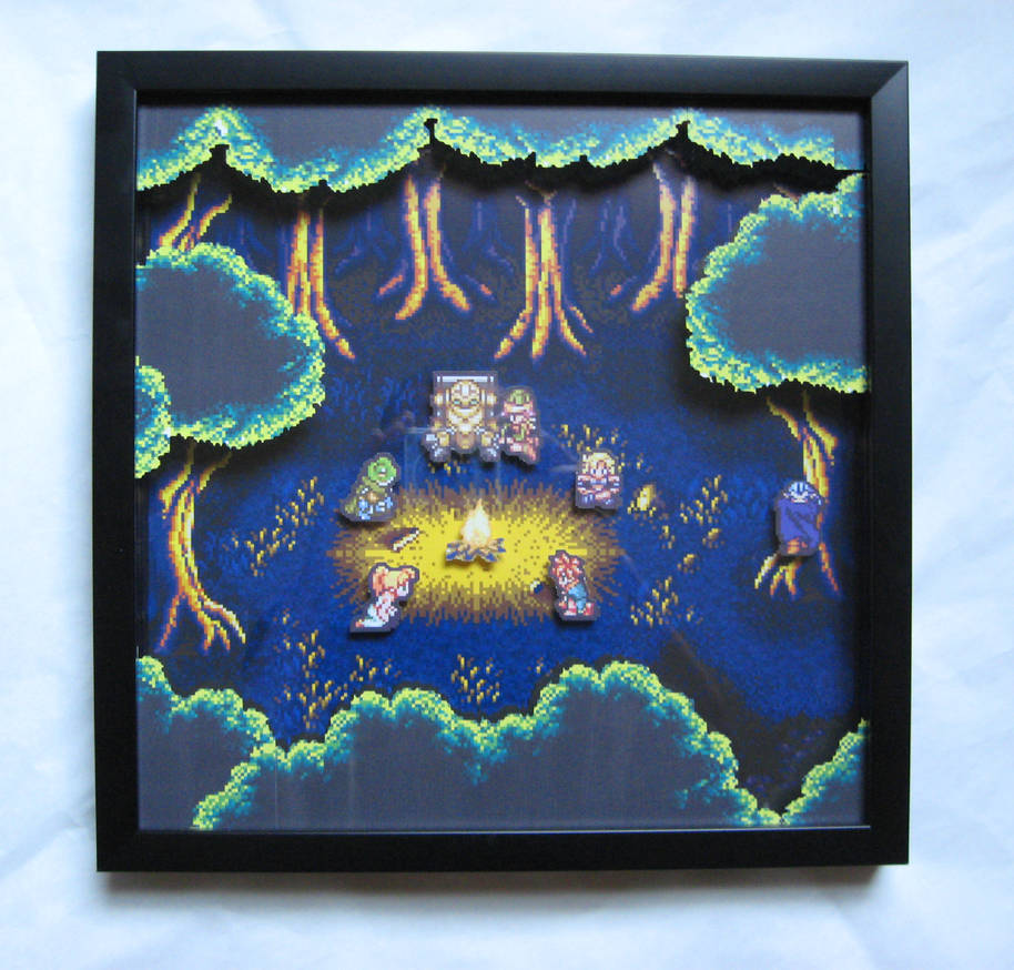 Chrono Trigger Shadowbox by Dlugo1975