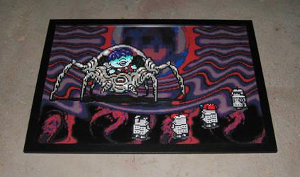 Perler Earthbound Pokey Fight by Dlugo1975