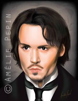 Johnny Depp vector