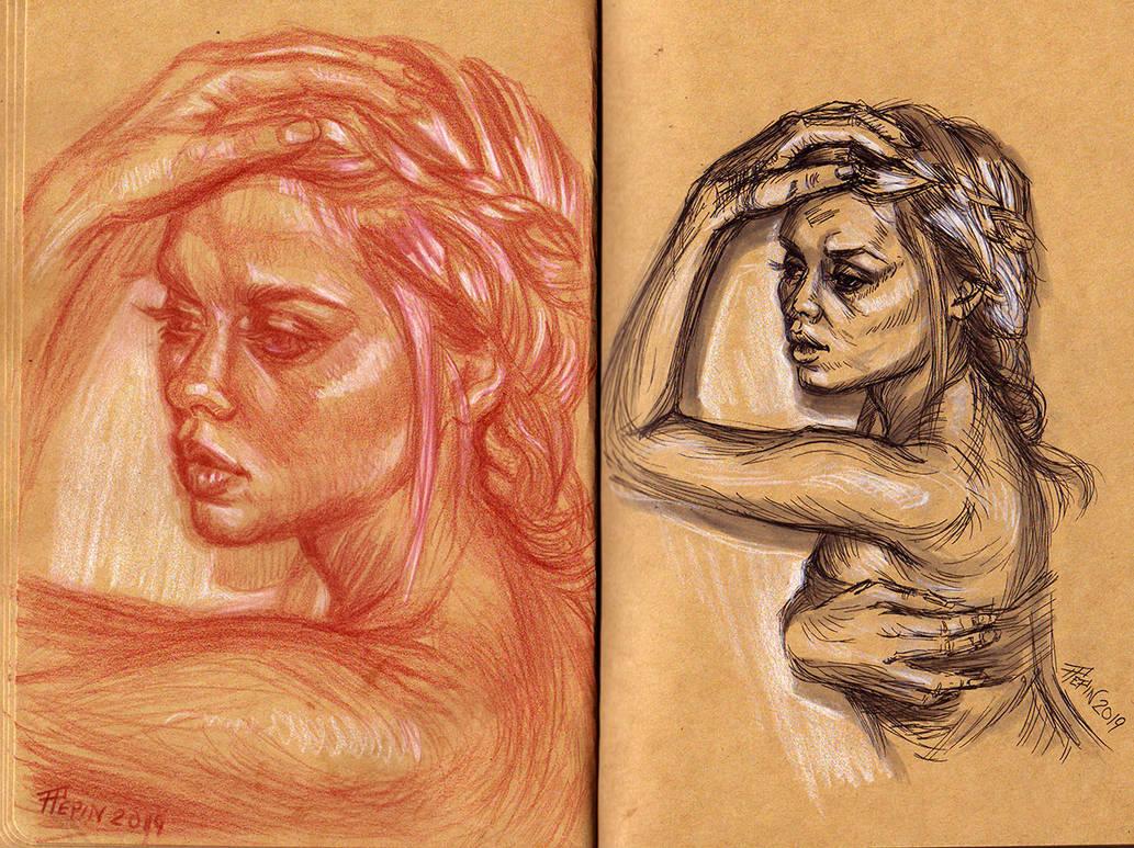 Mirish Drawings 1 by TheTruthLiesWithin