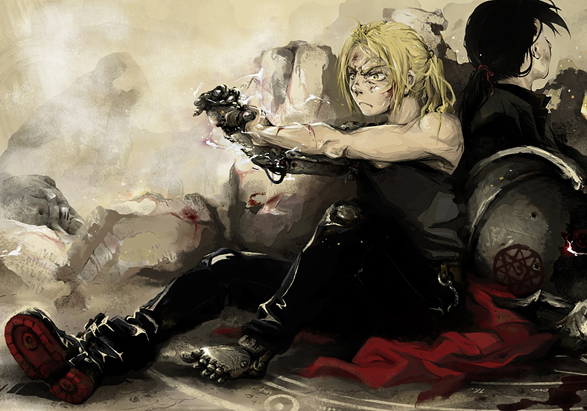 FMA: Not Your Friend, Buddy... by sweetlittlekitty