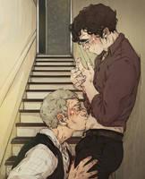 Sherlock: Belly Kisses