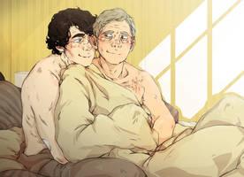 Sherlock: Fluffy cuddles