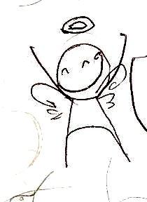 I became an angel by luuanaa