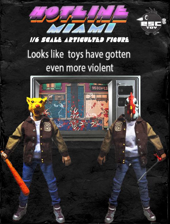 Hotline miami Toy advertisment by JetStrange
