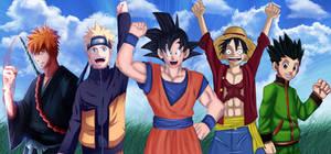 Shonen heroes Collab