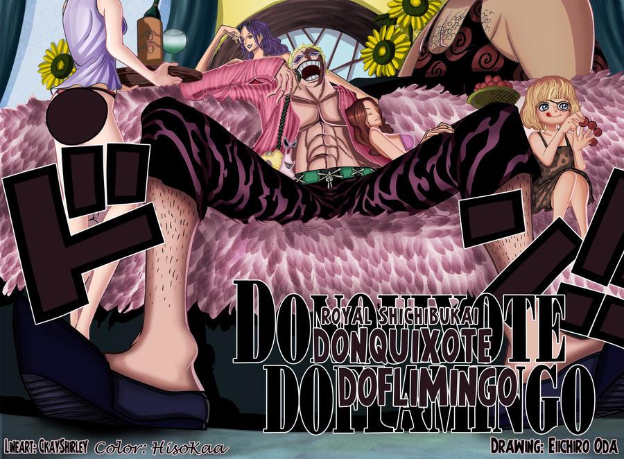 one piece Don doflamingo by Master-Majidosse