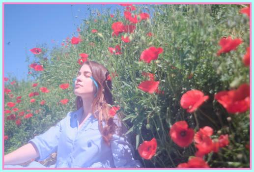 Lady in Pastel Flower's