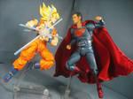 Goku vs. Superman 6 by KrisAnderson97