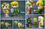 Link and Zelda (Wind Waker) by KrisAnderson97