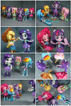 Mane 6 (Equestria Girls Minis)