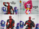 Deadpool visits somewhere by KrisAnderson97