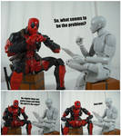 Deadpool's Therapy (Police Dogs) by KrisAnderson97