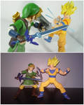 Link vs. Goku (2015/2019)