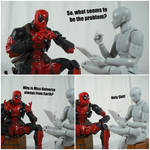 Deadpool's Therapy (Miss Universe) by KrisAnderson97