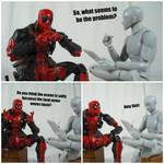 Deadpool's Therapy (Salty Ocean?) by KrisAnderson97