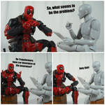 Deadpool's Therapy (Transformers) by KrisAnderson97