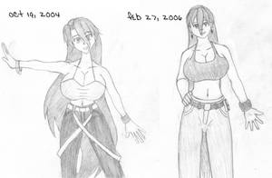 Katrina's Evolution by djsiren