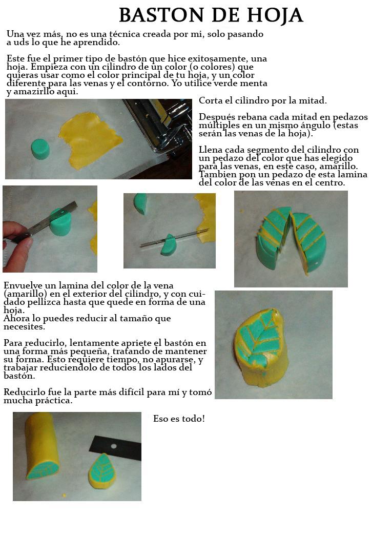 Tutorial para hacer Hojas by JacquiJax
