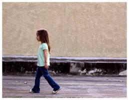 Little Girl Steps by JacquiJax