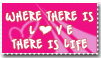 Where there is LOVE_Stamp by JacquiJax