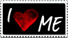 I Love Me Stamp by JacquiJax